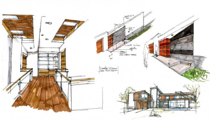 boceto proyecto reforma casa
