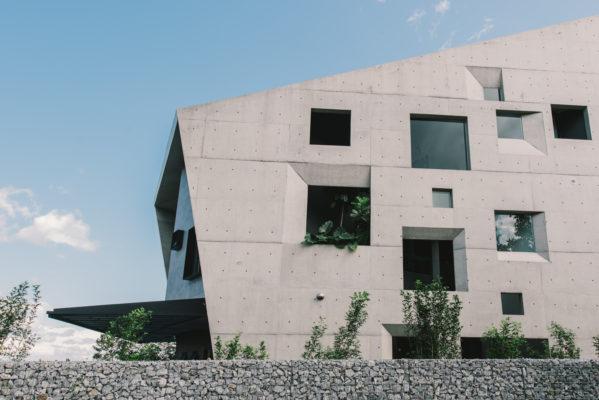 Increíble casa hecha con hormigón