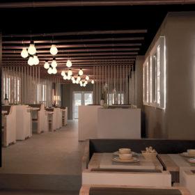 proyecto de interiorismo de restaurante Nomori
