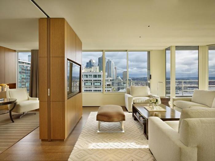 Separa dos ambientes en de una misma habitación
