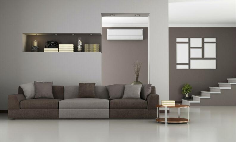 sofa 3 plazas en tonos neutros