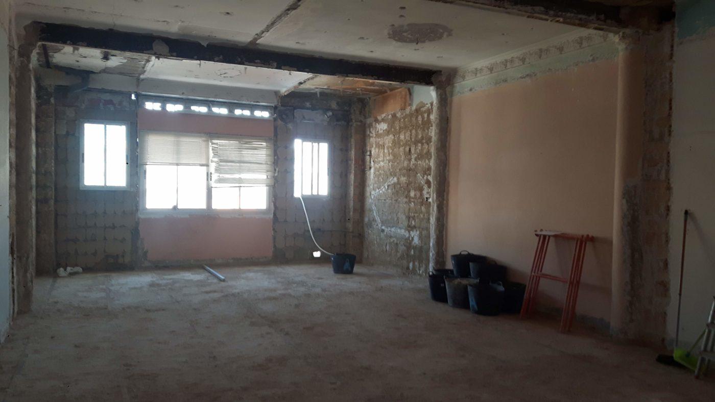 Reformando vivienda sin paredes