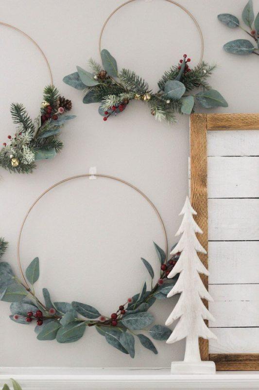 Adorno eucalipto navidad