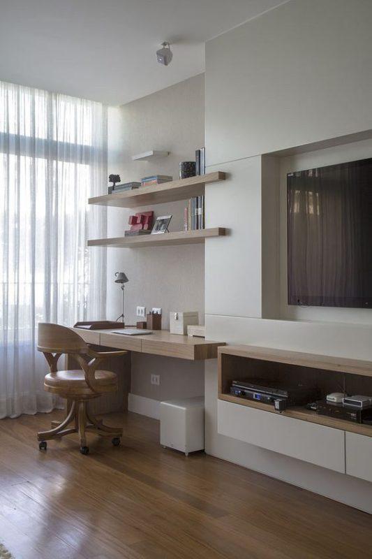 oficina en el salon