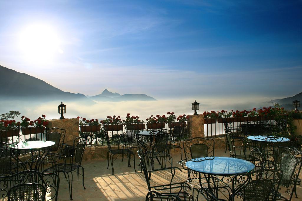 El Castell de Guadalest vistas terraza