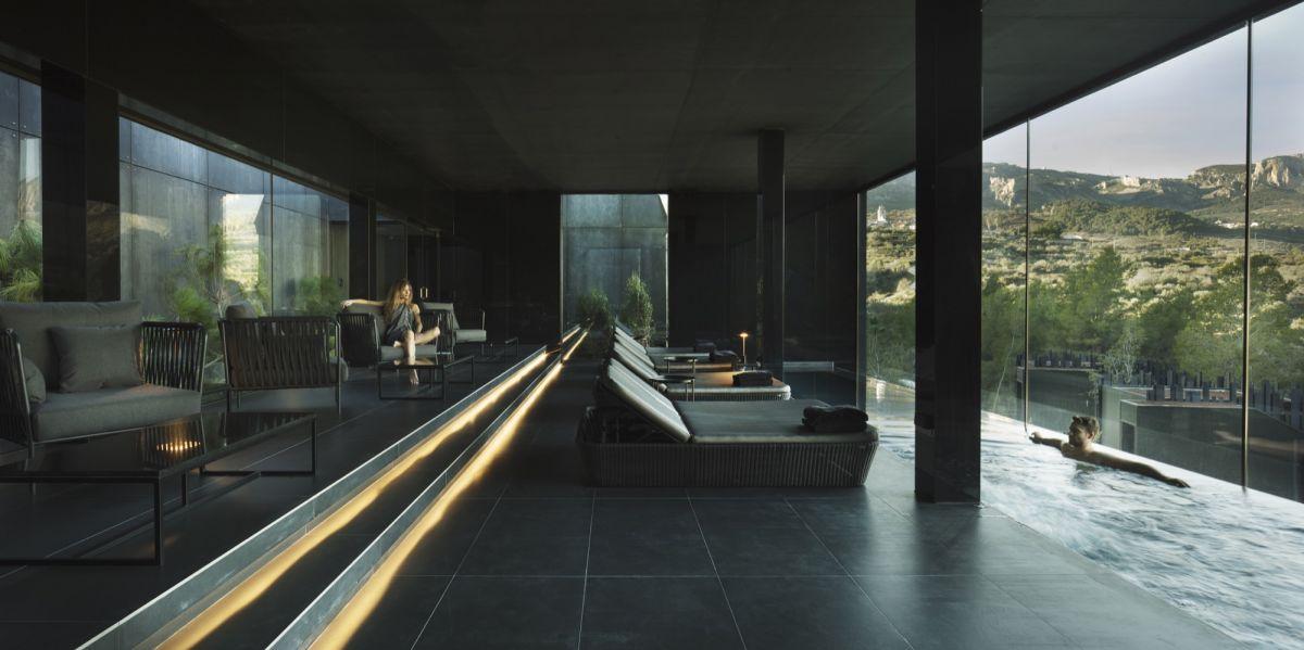 piscina interior hotel vivood