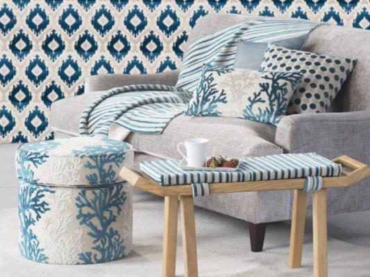 estilo Gancedo sofa con tejidos 2020