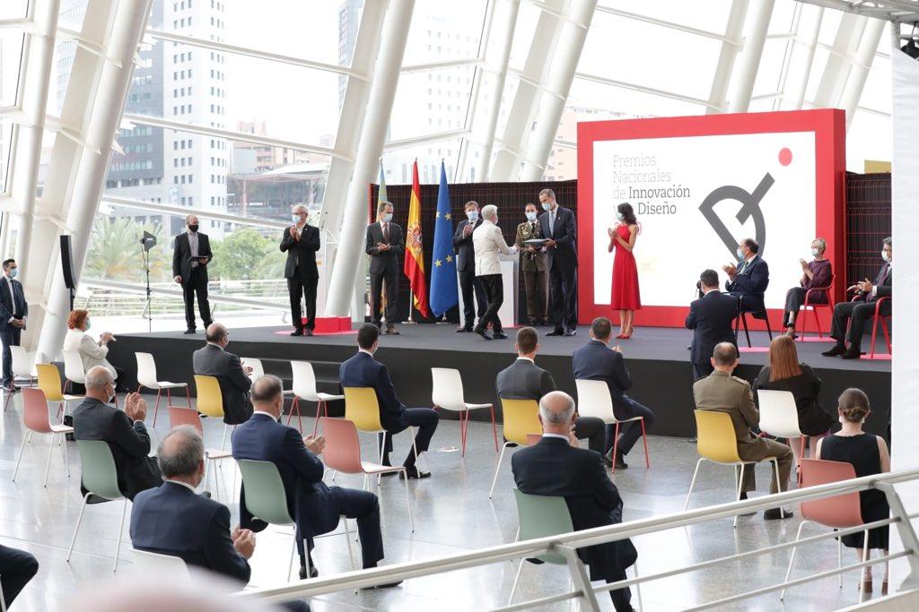 entrega de premios reyes de españa innovacion y diseño 2019