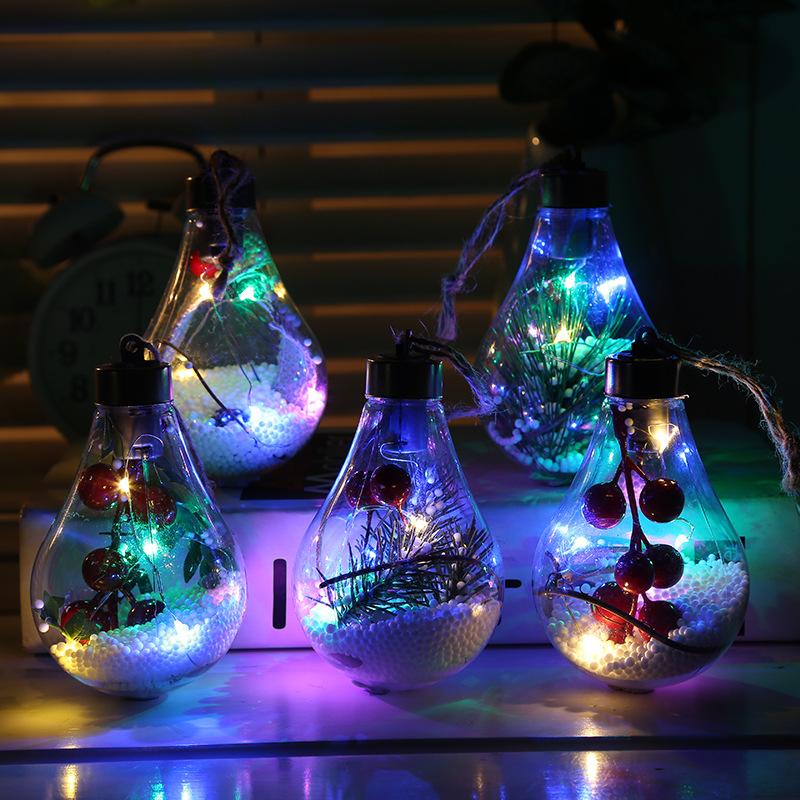 bombillas decoración navideña