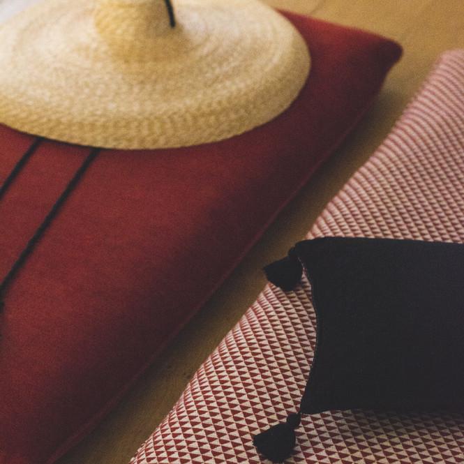 tejidos gancedo con sombrero