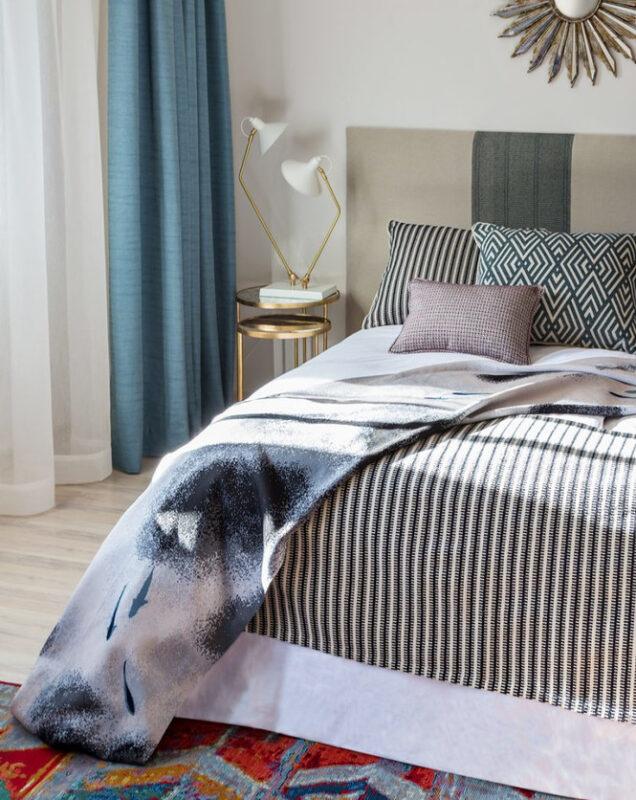 cama con tejidos gancedo