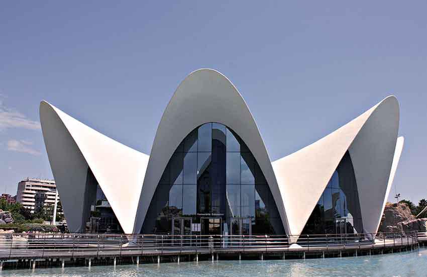 oceanografic edificio exterior