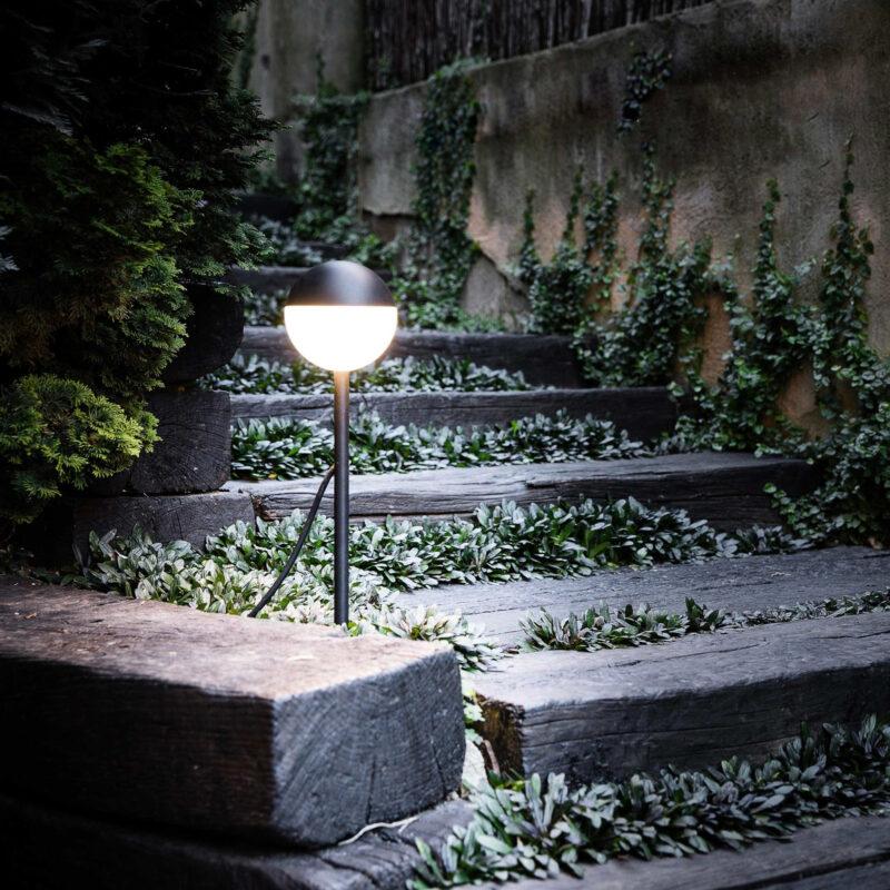 iluminar tu jardín