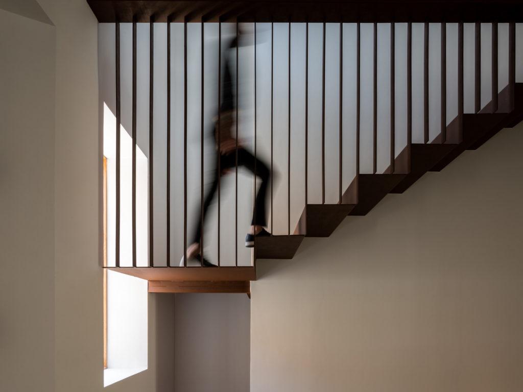 construccion de una escalera